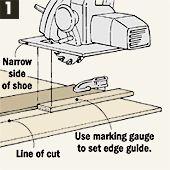 woodworking tip circular saw marking gauge