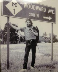 Bob Seger on Woodward Ave. in Detroit, MI