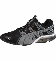 PowerTech Voltaic Men's Running Shoes: Okay, get ready for this. We took one of our most fan-favorited gym shoes, the PUMA Voltaic, and added a PowerTech heel unit for maximum cushioning and impact protection. (Hello, optimized workout potential.) We maintained the Voltaic
