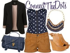 Connect The Dots, created by ultimatequeenb on Polyvore