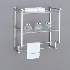 Bathroom towel bars height