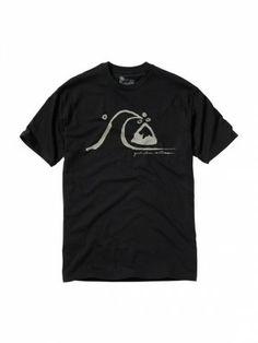 Camiseta Quiksilver Men's Timeless T-Shirt Anthracite #Camisetas #Quiksilver