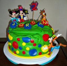 Mickey Mouse Birthday Cakes