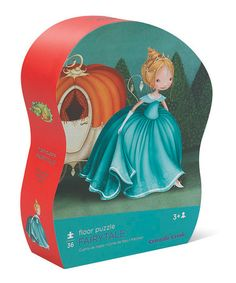 Take a look at this Fairy Tale Floor Puzzle by Crocodile Creek on #zulily today!