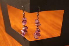 Amethyst Stone Earrings by APromisedHope on Etsy