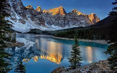 Moraine Lake Parque Nacional Banff 750x468 más fotografiados Moraine Lake - Canada