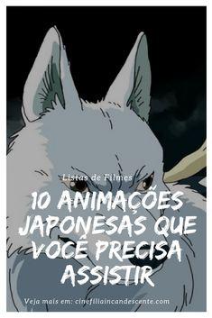 10 animações japonesas que você precisa conhecer. #filme #filmes #clássico #cinema #ator #atriz