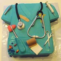 Scrub Top Cake