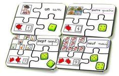 puzzle des nombres-association-schème-dé