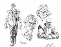 Solomon Grundy character design by Alex Ross