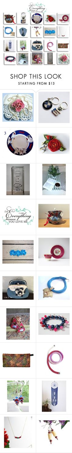 """""""Because you love me"""" by cozeequilts ❤ liked on Polyvore featuring BMW, WALL, Aynsley and rustic"""