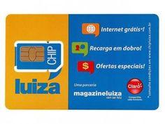 Chip Claro Luiza - 128 KB com as melhores condições você encontra no Magazine Linhatotal. Confira!