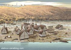 Bourget Lake Village, Conjux by Eric Le Brun
