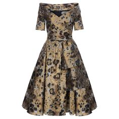 Temptress Dress leo - Autumn Winter 2014/2015 - Online Store - Lena Hoschek Online Shop
