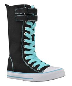 Take a look at this Black Lovebird Hi-Top Sneaker by VOLATILE on #zulily today!