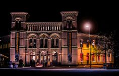 the Nobel Peace Center Oslo, Notre Dame, Norway, Peace, Mansions, House Styles, Building, Photos, Travel