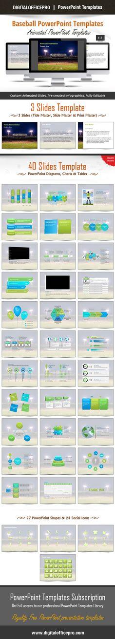 Digital Communication PowerPoint Template Backgrounds