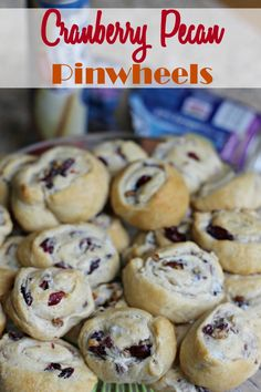 THese Cranberry Pecan Pinwheels sound amazing- but also super simple to make! A few easy to find (and you may have them on hand) ingredients, and a few minutes of time to prep this simple yet delightful brunch dish or appetizer for your holiday gatherings. #client  #warmtraditions
