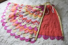I saw this post on Prudent Baby last year and I've been daydreaming about making bird wings ever since. Luckily Lila made no specific requests for a Halloween costume, so I was able to steer her in...