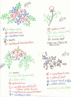 Honey Bee's Bliss: Silk Ribbon Embroidery Patterns