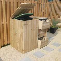 Stört Sie eine sichtbare Mülltonne auch so? 9 tolle Methoden, um die Mülltonne im Garten zu verbergen - DIY Bastelideen