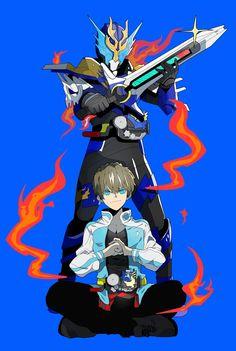 Kamen Rider Decade, Kamen Rider Series, Cyborg Superhero, Kamen Rider Kabuto, Kamen Rider Drive, Dragon Knight, Samurai Warrior, Dragon Art, Anime Style
