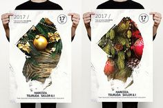 Christmas & Winter Flyer by MrMoustache on @creativemarket
