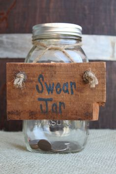 10 Swear Jar Ideas Swear Jar Jar Jar Crafts