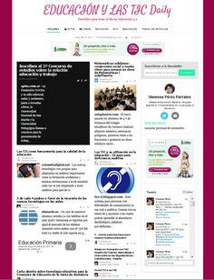 Educación y las TIC Daily por Vanessa Pérez Parrales