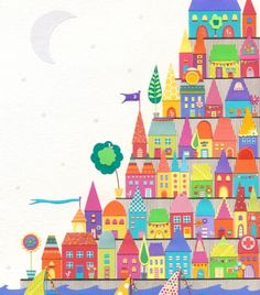 caroline rose art | The Moon Shone Silver