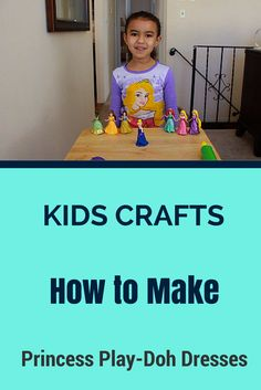 Kids Crafts: How to Make Awesome Play-Doh Dresses