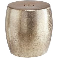 Pier 1 Imports Silver Dacia Garden Stool ($100) ❤ liked on Polyvore featuring home, outdoors, patio furniture, outdoor stools, silver, outdoor furniture, outdoor garden furniture, garden furniture and outside patio furniture