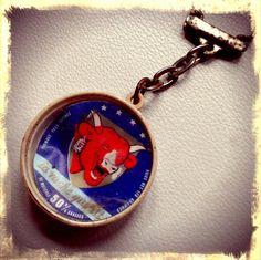 """""""La vache qui rit"""" key chain - mimi's private collection"""