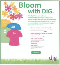 Bloom with DIG