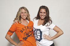 Purchase these itmes from MLBshop.com or the D Shop in Comerica Park.(Delayna & Nadia from the DTE Energy Squad)