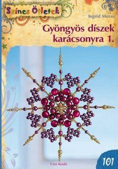 GYÖNGYÖS DÍSZEK KARÁCSONYRA Crochet Necklace, Christmas, Jewelry, Blackberries, Xmas, Jewlery, Crochet Collar, Bijoux, Weihnachten