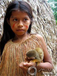 Yagua girl. Peru.