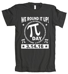 American Apparel: 3.14.16 We Round It Up Pi Day 2016 T-Shirt