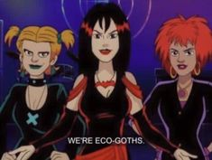 The Hex girls go Goth girl in a Scooby Doo episode called the Withces Brew. Great song too! Cartoon Cartoon, Cartoon Characters, Cartoon Character Pictures, Gothic Characters, Cartoon Crazy, Hex Girls, Memes Arte, Goth Girls, Goth Boy