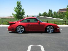 Ruf Porsche 911 Turbo (993 - last of the air-cooled 911's.) (Click on photo for high-res. image.)