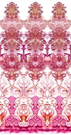 Damask Wallpaper Panels available at walnut wallpaper #wallpaper