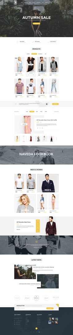 Naveda is the premium PSD template created with love for multipurpose eCommerce…