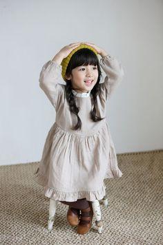 Ttobong Frill Dress (2C)