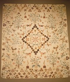 First Glance/Second Look: Quilts from the Denver Art Museum Collection Made in England in the early 1800s