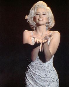 Mira Sorvino as Marilyn Monroe in the made-for-TV movie Norma Jean & Marilyn