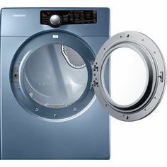 samsung 73 cu ft reversible side swing electric dryer blue 599 on sale at