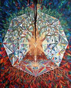 Visionary art of Jan Betts / Sacred Geometry <3