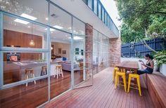 Contemporary Deck by Sketch Building Design