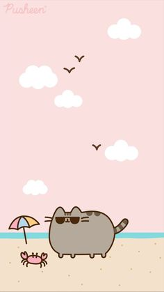 w a l l p a p e r Pusheen cat iphone wallpaper summer beach Types Of Lawn Mower Batteries Lawn mower Cute Cat Wallpaper, Cartoon Wallpaper Iphone, Summer Wallpaper, Kawaii Wallpaper, Cute Wallpaper Backgrounds, Cute Wallpapers, Cute Kawaii Drawings, Cute Animal Drawings, Pusheen Stickers