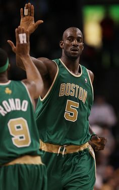 Love these St. Pattie's Day jerseys by the C's.